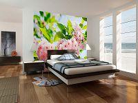 купить фотообои в спальню каталог дизайнов спален с обоями на стенах